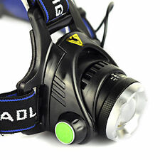 4000LM CREE XM-L T6 LED Headlamp 18650 Headlight Lamp Light 3 Mode Head Switch