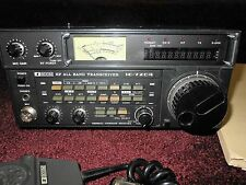 ICOM IC-720A HF GENERAL COVERAGE ALL BAND HAM RADIO TRANSCEIVER with mic+manual