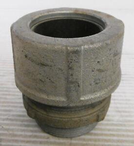 "Crouse Hinds Steel Cord Grip 2"" Thread 1-1/2"" Sealing Grommet"