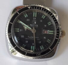 Vintage Diver MORTIMA SuperDatomatic 6Atm 100% waterproof French Made Wristwatch