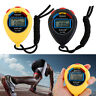 Digital Professional Handheld LCD Chronograph Sports Stopwatch Timer Watch