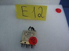 AMRA MTI ZR30-6412-10 Switch, Radio Frequency Transmission Line 28V