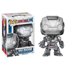 "Funko POP! Captain America Civil War WAR MACHINE 3.75"" Vinyl Bobble-Head #128"