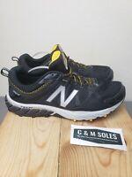 Men New Balance 610v5 All Terrain Trail Running Shoe Sneaker Black Yellow  11.5