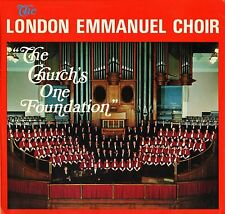 JLPS 170 THE LONDON EMMANUEL CHOIR the church's one foundation uk LP PS EX-/EX