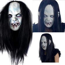 Halloween Sadako Maske Fasching Karneval Kostüm Horror Gruselige Cosplay Deko SE