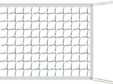 Indoor Outdoor Volleyball Net with Steel Cable Rope Official Size Beach Sports