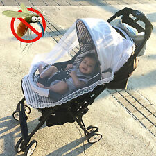 Lace Mosquito Net Insect Repellent Baby Carriage Infant Stroller Cradle Bed
