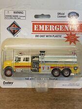 Boley International 4026 Yellow T3 Fire Rescue Truck 1/87 HO Scale Die-cast NOS