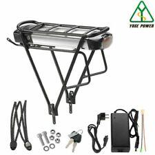 YOSE POWER Batterie 36 V et Porte-bagage pour Vélo Électrique - Noir