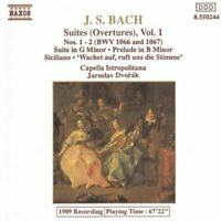 Various - Bach: Suites Nos 1 & 2 (CD) (1993)