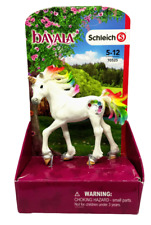 Schleich Rainbow Unicorn Foal Toy Figure Bayala White Cake Topper Fantasy Horse