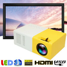 1080P Mini Pocket LED Projector Home Cinema Theater Multimedia AV VGA HDMI USB