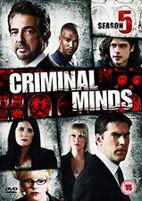 CRIMINAL MINDS - Series 5 Complete 5th Fifth Season - New Sealed UK Region 2 DVD