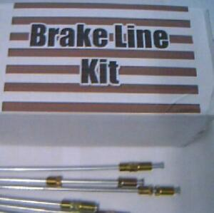 All metal brake lines for Buick Oldsmobile 1941 to 1976 -replace corroded lines!