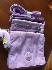 Kipling ElDorado Small Crossbody Bag w/ 5 Storage Compartments, Lavender, new