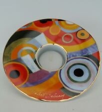 Goebel - Robert Delauney 'Joie de Vivre' porcelain tealight holder