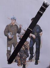 """""""Originals"""" NATO/MoD watch strap Black 20mm x 280mm"""