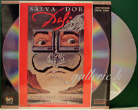 "SALVADOR DALI -A SOFT SELF PORTRAIT RARE LD ORSON WELLES NOT ON DVD ""A MUST SEE"""