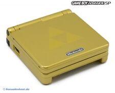 Nintendo GameBoy Advance - Konsole GBA SP #Zelda Limited Edition + Stromkabel