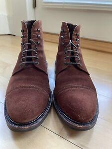 Carmina Soller Suede Dress Boots, 80179, Men's US 9.5, UK 8.5 Skoaktiebokaget