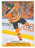 2020-21 Upper Deck Series 1 UD CANVAS Leon Draisaitl  #C32