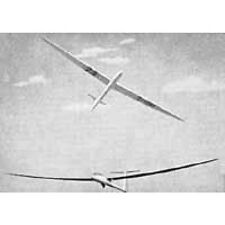 Bauplan Darmstadt D 36 Circe Modellbau Modellbauplan Segelflugzeug