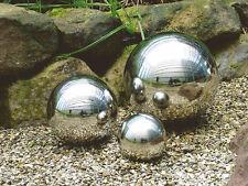 Dekokugel aus hochwertigem Edelstahl - 6 Größen - Edelstahlkugel Schwimmkugel
