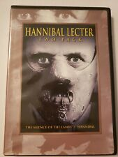 Hannibal Lecter 2 Pack (DVD 2-Disc Set, 2007) - Anthony Hopkins - Region 1