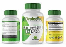 ASTARGALUS EXTRACT 470 MG / 100 CAPSULES Supplement Facts