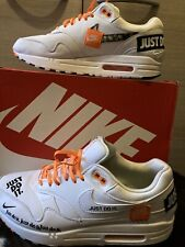 Nike Air Max 1 SE 'Just Do It' Size UK7,5,EU42. No Insoles!