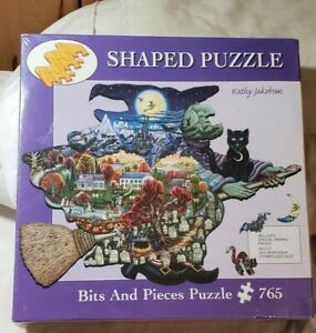 NISB Bits And Pieces WITCH WAY TO HALLOWEEN Jigsaw Puzzle