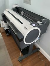 Canon Ipf750 36 Large Format Inkjet Printer Plotter Not Working For Parts Only