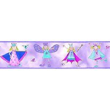 RoomMates R1014 Fairy Princes Peel & Stick Wall Border