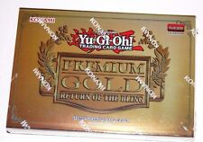 Yugioh 15-Card Booster Pack Premium Gold Series 2: Return of the Bling Konami