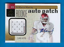 2011 SP ROOKIE AUTO PATCH DEMARCO MURRAY AUTOGRAPH JERSEY RC #140/699