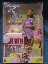 Barbie Happy Family Pregnant Midge & Baby, #56663, 2002, NIB, RARE