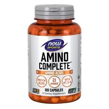 Now Foods Amino Complete - 120 Capsules Made in USA FREE SHIPPING