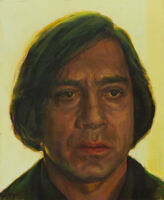Anton Chigurh ART PRINT from oil painting NO COUNTRY FOR OLD MEN 13x19in