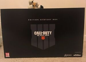CALL OF DUTY BLACK OPS 4 MYSTERY WEAPONS BOX collectors EDITION PS4 PS5
