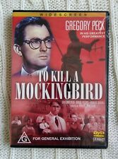 TO KILL A MOCKINGBIRD – DVD, R-ALL, NEW AND SEALED, FREE POST WITHIN AUSTRALIA