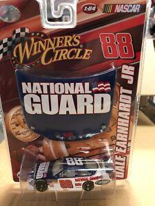 Winners Circle Dale Earnhardt Jr #88 National Guard 1:64 Car &  Hood