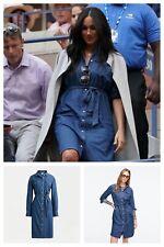 J Crew Blue Denim Shirtdress Dress With Tie Belt S UK8 US4 BNWT S/O ASO Royal