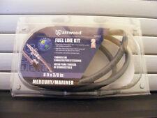 Attwood Mercury / Mariner Pre '98 Fuel Line Kit (w/ Fittings) – 6'