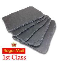 New NATURAL Flat SLATE Rock Piece AQUARIUM Fish Tank Gravel Reptile Basking Tile