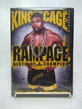 Rampage Birth of a Champion King of the Cage DVD Movie New UPC 787364796991