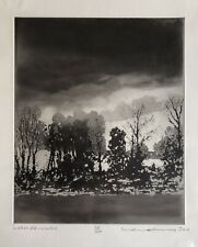 NORMAN ACKROYD R.A. CBE ' Lakeside-Winter' Original Limited Edition Etching
