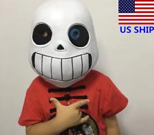 US! Undertale Legend Sans Children Mask Halloween Cosplay Headset Costume Props