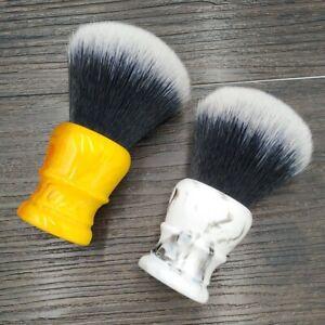 30mm Big Tuxedo Knot Synthetic Hair Shaving Brush with Resin Handle shaving Tool
