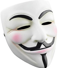 Halloween Masks V for Vendetta Mask, Anonymous/Guy Fawkes for 2018 Halloween Cos
